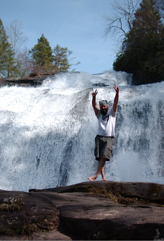 high falls dupont forest